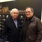 Con Antón García Abril