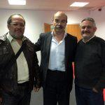 Con Antonio Resines