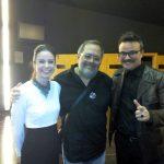 Con Ignacio Estaregui y Gloria Sendino