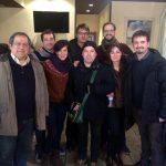 Con Jorge Asín y amigos