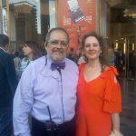 Con Marisol Llorente Simón 2017