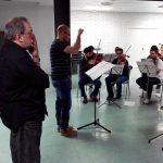 Con la Joven Orquesta de Bandas Sonoras